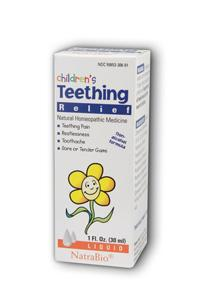 NATRA-BIO/BOTANICAL LABS: Children's Teething 1 fl oz