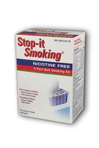 NATRA-BIO/BOTANICAL LABS: Stop-it Smoking 2-Part Program 60 tabs+48 loz