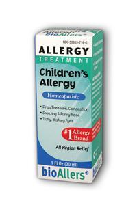 NATRA-BIO/BOTANICAL LABS: bioAllers Children's Allergy Relief 1 oz