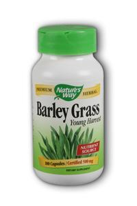 NATURE'S WAY: Barley Grass 100 caps
