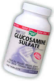 NATURE'S WAY: Glucosamine Sulfate 80 tabs
