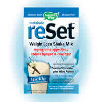 NATURE'S WAY: Metabolic ReSet Vanilla Shake 10 pkts
