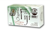ORGANIC FIJI: Organic Lemongrass Tangerine Soap Bar 240 gm