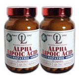 Alpha lipoic acid 400mg twin pack