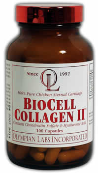 BioCell Collagen II, 100 caps