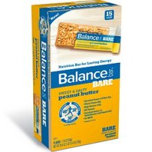 BALANCE BAR COMPANY: BALANCE BARE BAR PEANUT BUTTER 15 BOX