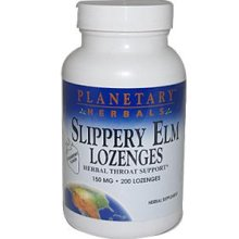 PLANETARY HERBALS: Slippery Elm Lozenges With Echinacea and Vit C Trial 10 LOZ