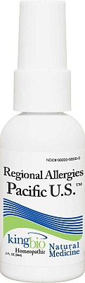 KING BIO: REGIONAL ALLERGY PACIFIC US 2OZ
