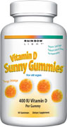 RAINBOW LIGHT: Vitamin D Sunny Gummies 60 chews
