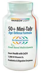 RAINBOW LIGHT: 50 Plus MiniTab Multivitiamin 180 tabs