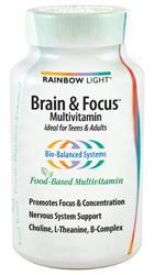 RAINBOW LIGHT: BRAIN FOCUS MULTIVITAMIN 90T