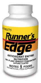 BIOTEC FOODS: Runner's Edge 100 tabs