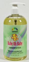 Baby Shampoo Unscented 16 OZ from RAINBOW RESEARCH
