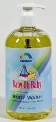 RAINBOW RESEARCH: Baby Body Wash Scented 16 OZ