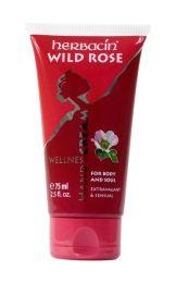 HERBACIN: Herbacin Wild Rose Hand Cream 2.5oz