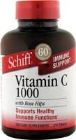 SCHIFF/BIO FOODS: C-1000 With Rose Hips 250 tabs