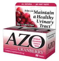 AZO Cranberry, 50 tab