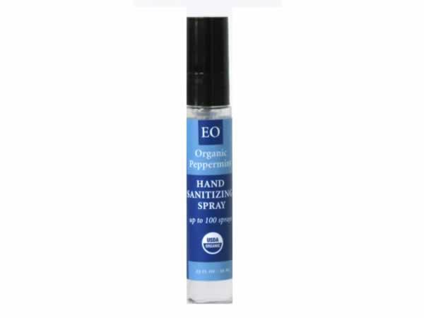 Hand Sanitizer Spray Organic Peppermint 33 Oz 1 94ea