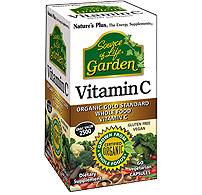 Natures Plus: Source of Life Garden Garden Vitamin C 500 mg Vcaps 60 Vcaps