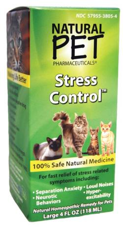 KING BIO: NATURAL PET CAT STRESS CONTROL 4OZ