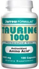 Jarrow: Taurine 1000 mg 100 CAPS