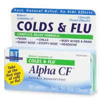 Boericke and tafel: Alpha CF Colds & Flu 40 tabs