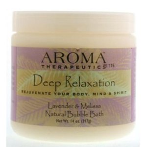 ABRA THERAPEUTICS: Deep Relaxation Aroma Therapeutic Bubble Bath 14 oz