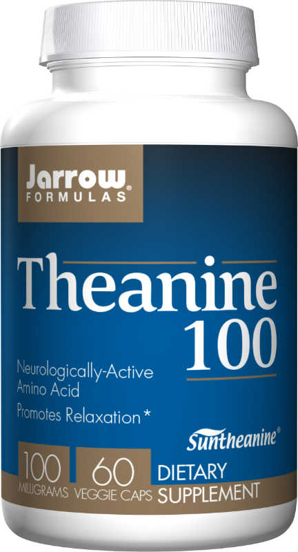 Theanine 100 MG 60 CAPS from JARROW