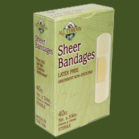 ALL TERRAIN: SHEER BANDAGES 3X3  4 40PC