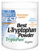 Doctors Best: Best L-Tryptophan Powder 50 Grams
