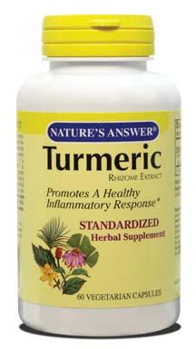 NATURE'S ANSWER: Tumeric Standardized 60 VEGICAP