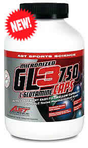 AST SPORTS SCIENCE: L-GLUTAMINE GL3 750mg 500 CAPS