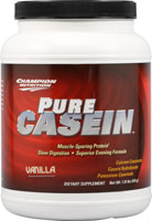 Champion nutrition: Pure casein vanilla 610g