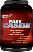 CHAMPION NUTRITION: PURE CASEIN CHOCOLATE 707g
