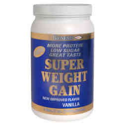 GENESIS NUTRITION PRODUCTS: SUPER WT GAIN 1800 VAN 50OZ. 50 oz