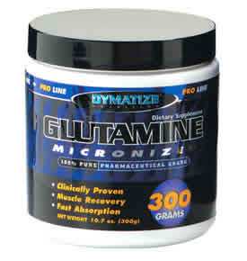 DYMATIZE: GLUTAMINE 300GM 300 grams