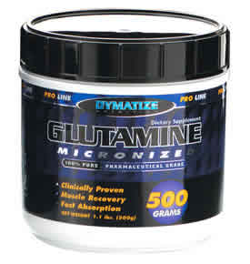 DYMATIZE: GLUTAMINE 500GM 500 grams