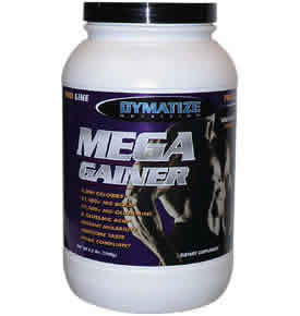 DYMATIZE: MEGA GAINER CHOCOLATE 3.3LB 3.3 lb