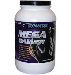 DYMATIZE: MEGA GAINER VANILLA 3.3LB 3.3 lb