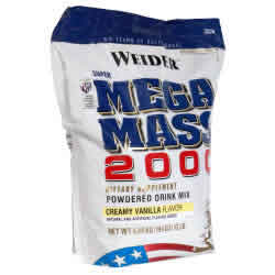 Weider health and fitness: MEGA MASS 2000 VAN 12.5 LB 12.5 lb