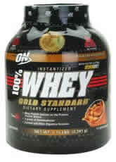 OPTIMUM NUTRITION: 100  WHEY GOLD CHOC 5LB 5 lb