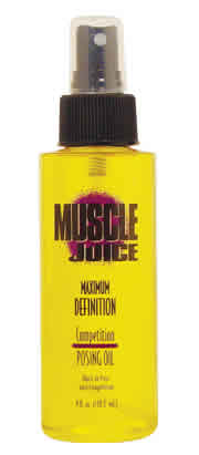Performance brands inc: MUSCLE JUICE POSING OIL 4OZ 4 oz