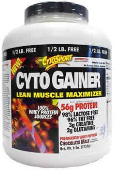 Cytosport inc: CYTOGAINER CHOCOLATE 6LB 6 lb