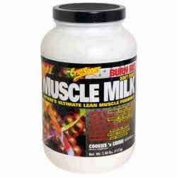 Cytosport inc: MUSCLE MILK COOKIE &CRM 2.48LB 2.48 lb