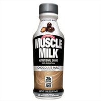 Cytosport inc: MUSCLE MILK RTD CHOCOLATE MALT 17 OZ 12 CASE