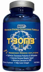 MAXIMUM HUMAN PERFORMANCE: T-BOMB II 168 TABS