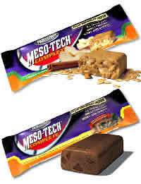 Muscletech: Meso-tech bar pnut butter 12bx 12 BOX PEANUT BUTTER