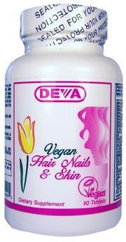 DEVA: Vegan Hair Nails and Skin 90 tab