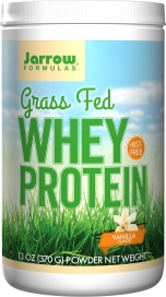 Jarrow: Whey Protein Grass Fed Vanilla 391 GM