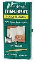 NATURAL DENTIST: Stim-U-Dent Plaque Removers Mint 4 pkt